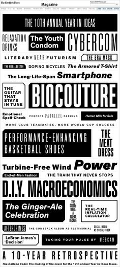Theinhardt NYT Typeface / designed by François Rappo from Optimo