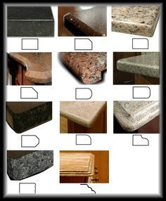 14 Best Granite Edges For Your Countertops Gallery Kitchen Remodel Countertops Granite Countertop Edges Kitchen Countertop Edges