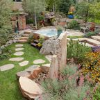 Patio/Pergola/Front Yard/Back Yard - Traditional - Landscape - denver - by Glacier View Landscape & Design, Inc.