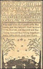Words of Praise Kingdom of Peace Sampler Cross Stitch Samplers, Needlework, Vintage World Maps, Stitching, Peace, Embroidery, Words, Projects, Costura