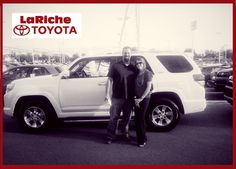 Meet Dave & Mandy Miller proud new owners of a 2013 #Toyota #4Runner, we know you will have a blast!