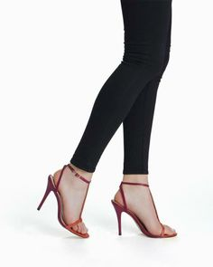 Ulla Barely-there T-strap Pumps
