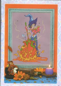 Halloween 5: Solo Patrones Punto Cruz (pág. 2) | Aprender manualidades es facilisimo.com