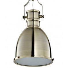 Classic Industrial Pendant (brass) - OFF Brass, Wall Lights, Light, Brass Lighting, Industrial Pendant, Lighting, Lights, Pendant Light, Ceiling Lights