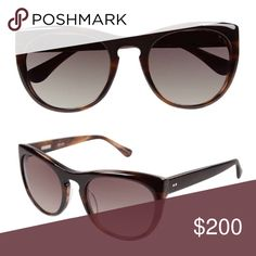 Derek Lam Sunglasses. Woman's styler fashion sunglasses• Brown frame color• Olive gradient lens color• Plastic frame material• Plastic lens type• 100% UV protection• Case included. Derek Lam Accessories Glasses