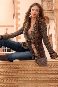 boston proper brown jacket