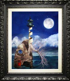 """Jon Jaylo """"Breathe"""" 2015, Oil on canvas, 30 x 24 inches"""