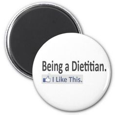 Shop Being a Dietitian.I Like This Magnet created by Dietitian_Shirts. Round Magnets, Paper Cover, Dietitian, Health And Nutrition, Ads, Feelings, Sayings, Business, Life