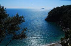 """Liguria Lerici, spiaggia """"Eco del Mare""""    #TuscanyAgriturismoGiratola"""