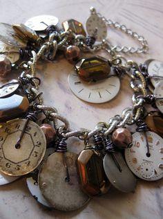 vintage dial bracelet