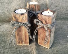 Branch Candle Rustic style Candle Holder Tree by Laurnika candle holder Items similar to Branch Candle - Rustic style, Candle Holder, Tree Slice, Wooden Candle Holders, on Etsy Driftwood Candle Holders, Rustic Candle Holders, Candle Holders Wedding, 4x4 Wood Crafts, Driftwood Crafts, Wood Tea Light Holder, Style Rustique, Deco Table, Wooden Diy