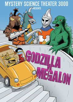 Godzilla and MST3k! Two great things that go great together!