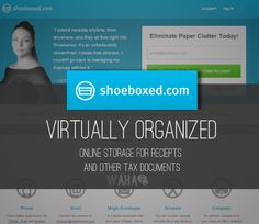 review of shoeboxed - a virtual way to organize your tax season