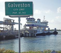 Galveston Ferry: Galveston, Texas I LOVE riding these. It's a tradition my family and I do whenever we go there.
