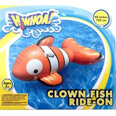 nemo ride on float tube gift for kids ,gift for kiddo
