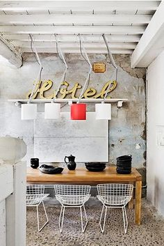 industrial lighting - maison pujol