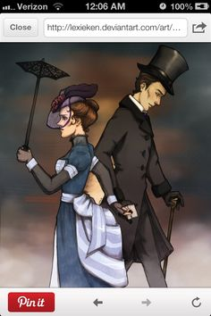 Victorian Sherlock and Molly