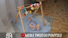 Drewniany stojak edukacyjny, baby gym Baby Gym, Toddler Bed, Education, Furniture, Home Decor, Child Bed, Decoration Home, Room Decor, Home Furniture