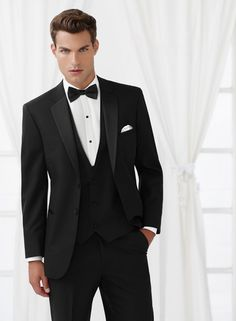 Jean Yves: Essential Modern Fit Tuxedo - Style C1006 – L'Arsenale Formal Wear