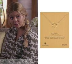 Pretty Little Liars: Season 6 Episode 12 Alison's Gold Circle Necklace