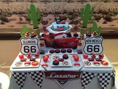 Rayo Mc Queen Birthday Party Ideas   Photo 1 of 6