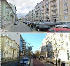 Antes/Depois: 30 fotos que mostram que é possível projetar para os pedestres,Av. Duque de Ávila, Lisboa, Portugal. Cortesia de Urb-I