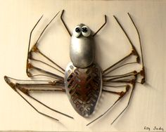 Le Jardin des Bennes de Lilly Sunday Araignée / Spider