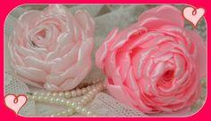 Como fazer rosas de cetim