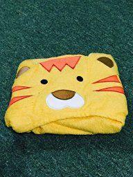 Amazon.com : SaturdayKnight Animal Face Hooded Baby Towel, Lion : Baby