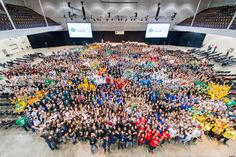 The 2014 iGEM Jamboree from above!