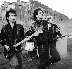 Irlande - Dublin , concert U2 1981