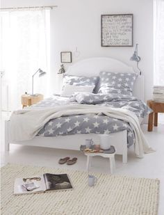 20 formas de decorar un dormitorio en blanco Blog T&D (11)
