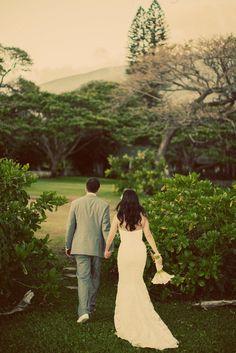 Photography: Kaua Wedding Photography - kauaweddingphotography.com Planning + Coordination: Tropical Maui Weddings - tropicalmauiweddings.com Floral Design: Lois Hiranaga Floral Design - loismauigirl.com  Read More: http://www.stylemepretty.com/destination-weddings/hawaii-weddings/2012/11/14/maui-wedding-at-olowalu-plantation-house-from-kaua-wedding-photography/