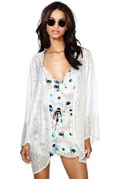 Vagabond Silk Kimono