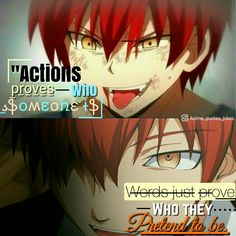 #assissnationclassrom Assissanition classroom Anime Anime quotes. Quotes Karama