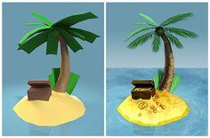 Создание лоупольной 3D-модели » 3Dpapa.ru