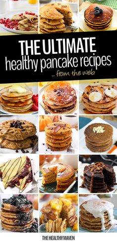 The Ultimate Healthy Pancake Recipe Round-Up - The Healthy Maven