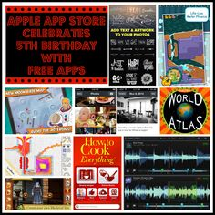 Free Apple Apps to Celebrate App Store's 5th Birthday