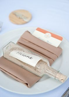 Could Be Used As Place Cards Gifts For The Guests To Handed Out Beach Wedding