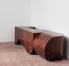 Christopher Stuart bench for Wallpaperhandmade_th Bench Furniture, Design Furniture, Cool Furniture, Table Design, Take A Seat, Cadillac, Interiores Design, Contemporary Furniture, Decoration