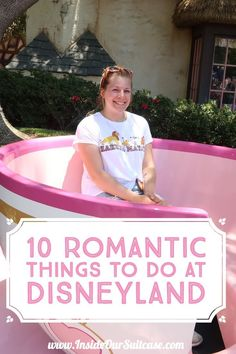 Here are 10 romantic things to do at Disneyland California. If you're going to Disneyland California for couples then you'll want to do these great things. Disneyland is a great place for couples. There's lots of things to do at Disneyland California as a Disneyland Honeymoon, Disneyland Rides, Disneyland Secrets, Disneyland California, Disneyland Resort, Disney Vacations, Family Vacations, Cruise Vacation, Disneyland For Couples