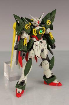 GUNDAM GUY: 1/144 Wing Gundam Integrale Fenice - Custom Build