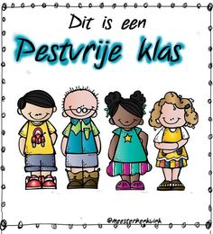meester Henk - ANTI-PESTEN :: antipesten.yurls.net digibord of afdrukken Back 2 School, Bullying, Classroom, Teacher, Education, Fun, Kids, School Routines, Professor