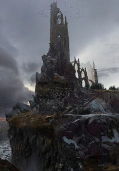 The Tower by Blake Rottinger (Fantasy Art Watch)
