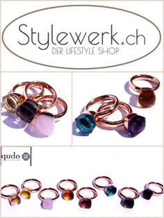 NEW IN: qudo rings for just CHF 89,- @ www.stylewerk.ch