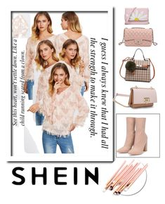 Shein by veronikavavrova on Polyvore featuring polyvore fashion style clothing