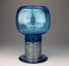 Kaj Franck Nuutajarvi - POCAL GLASS - SIGNED | eBay