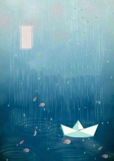 Wallpaper rainy day.