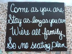 Still love this idea! One for the wedding.. and then another for the reception!