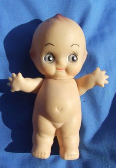 "VTG Kewpie Doll Baby Cupie Vintage Cameo Figurine Rubber Ornament Japan Toys 5"" #KewpieBabyDolls  This is now for sale on ebay for 99 cents Selling now on ebay, check it out. Ebay item number  111445209710"